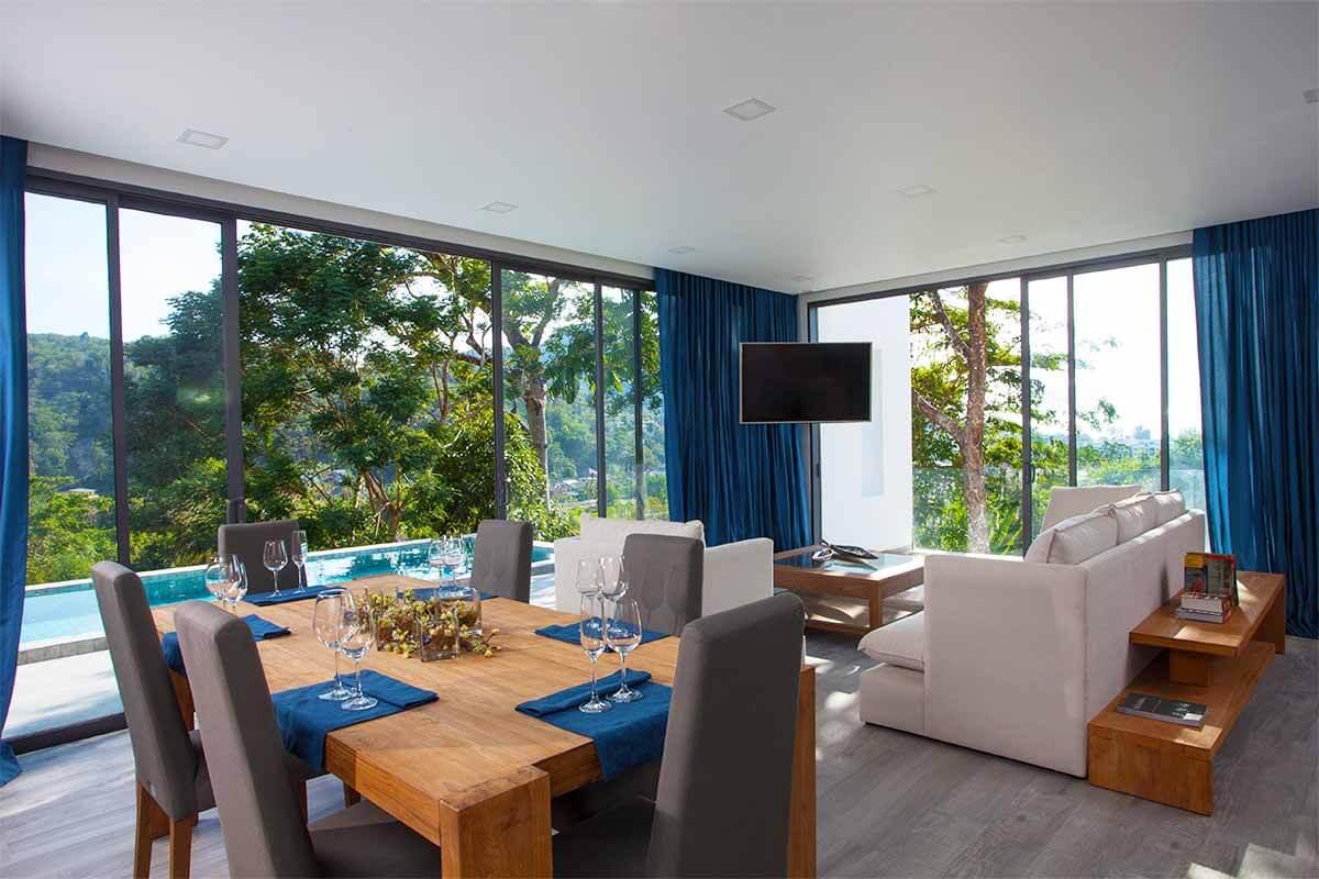 3 Bedroom Sea View Pool Villa for Sale in Kamala, Phuket