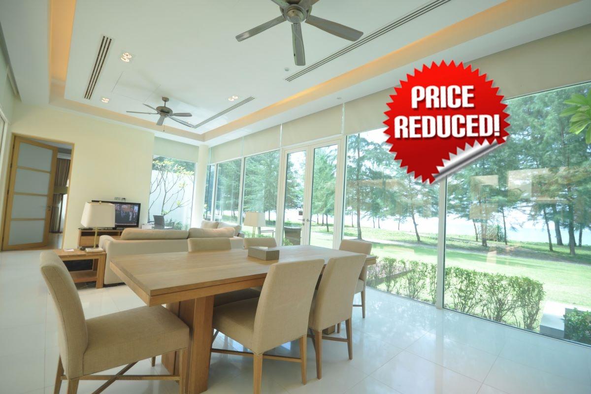 3 Bedroom Beachfront Pool Villa for Sale in Mai Khao Beach, Phuket