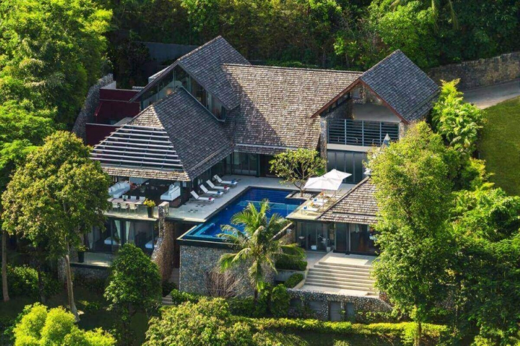 4 Bedroom Oceanfront Luxury Pool Villa at Samsara, Kamala headland, Phuket