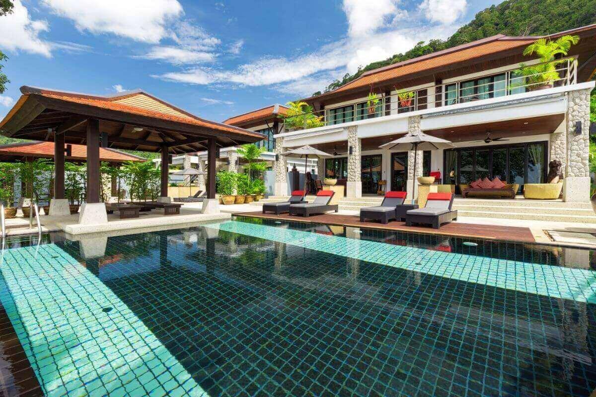 6 Bedroom + 5 Bedroom Sea View Pool Villas for Sale in Kalim Phuket