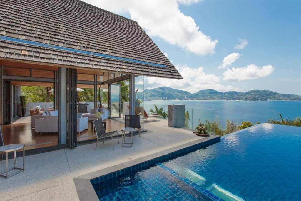 Villa Benyasiri 5 Bedroom Oceanfront Pool Villa for Sale Near Kamala Beach Phuket