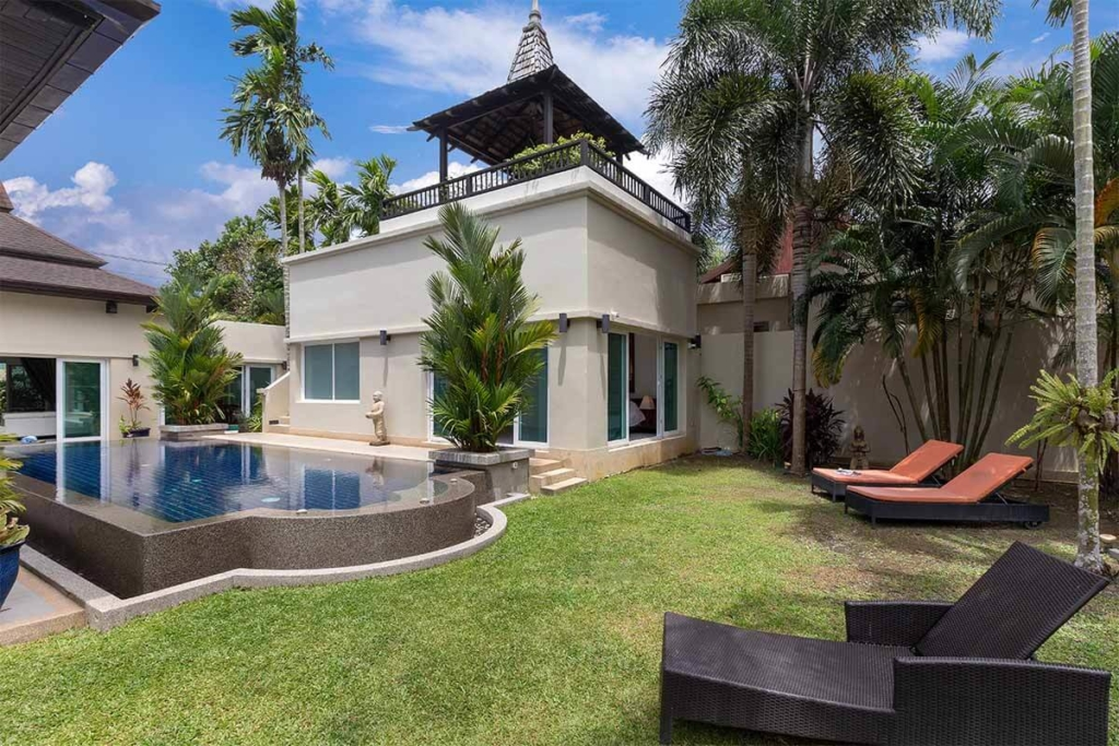 Botanica Villa for Sale in Layan Phuket