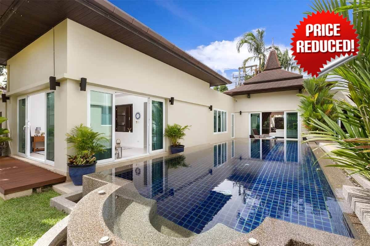 Botanica 3 Bedroom Reduced Price Pool Villa for Sale in Cherng Talay Phuket near Laguna