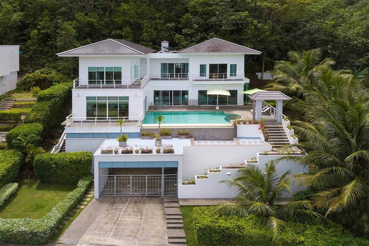 4 Bedroom Golf Course View Pool Villa for sale in Kathu Phuket