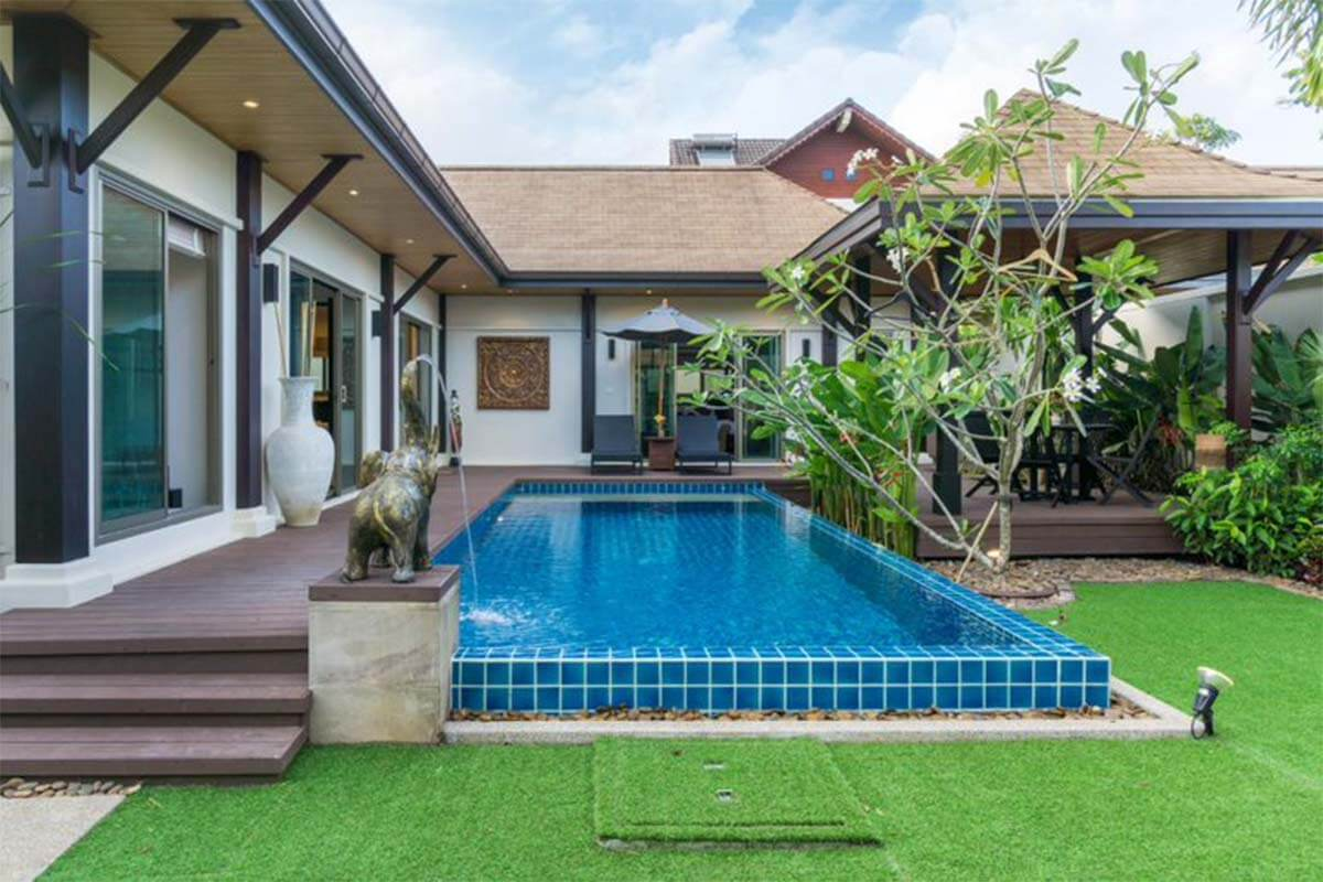 Niche 3 Bedroom Pool Villa for Rent in Rawai Phuket
