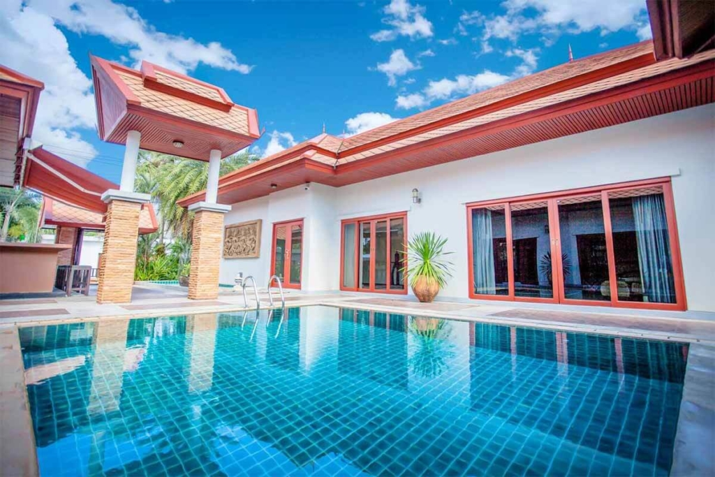 4 Bedroom Private Pool Villa for Rent in Nai Yang Phuket