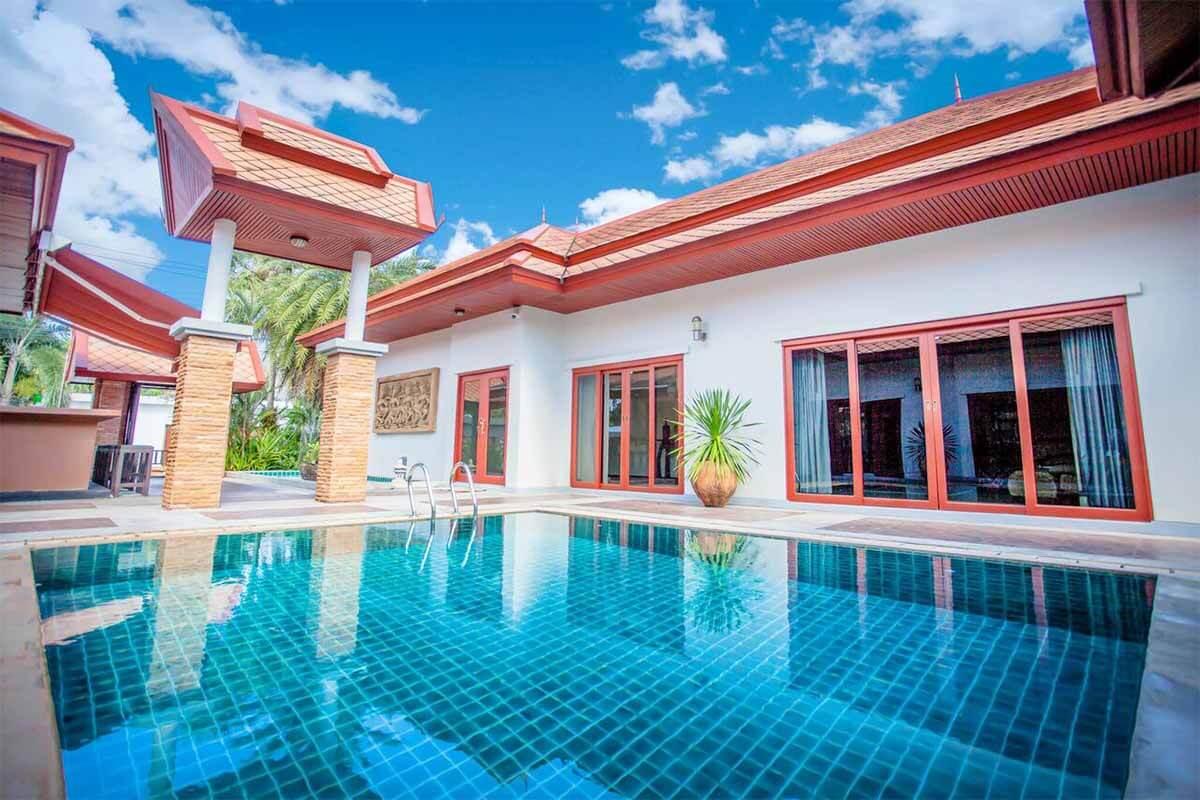 4 Bedroom Private Pool Villa for Rent in Nai Yang Phuket