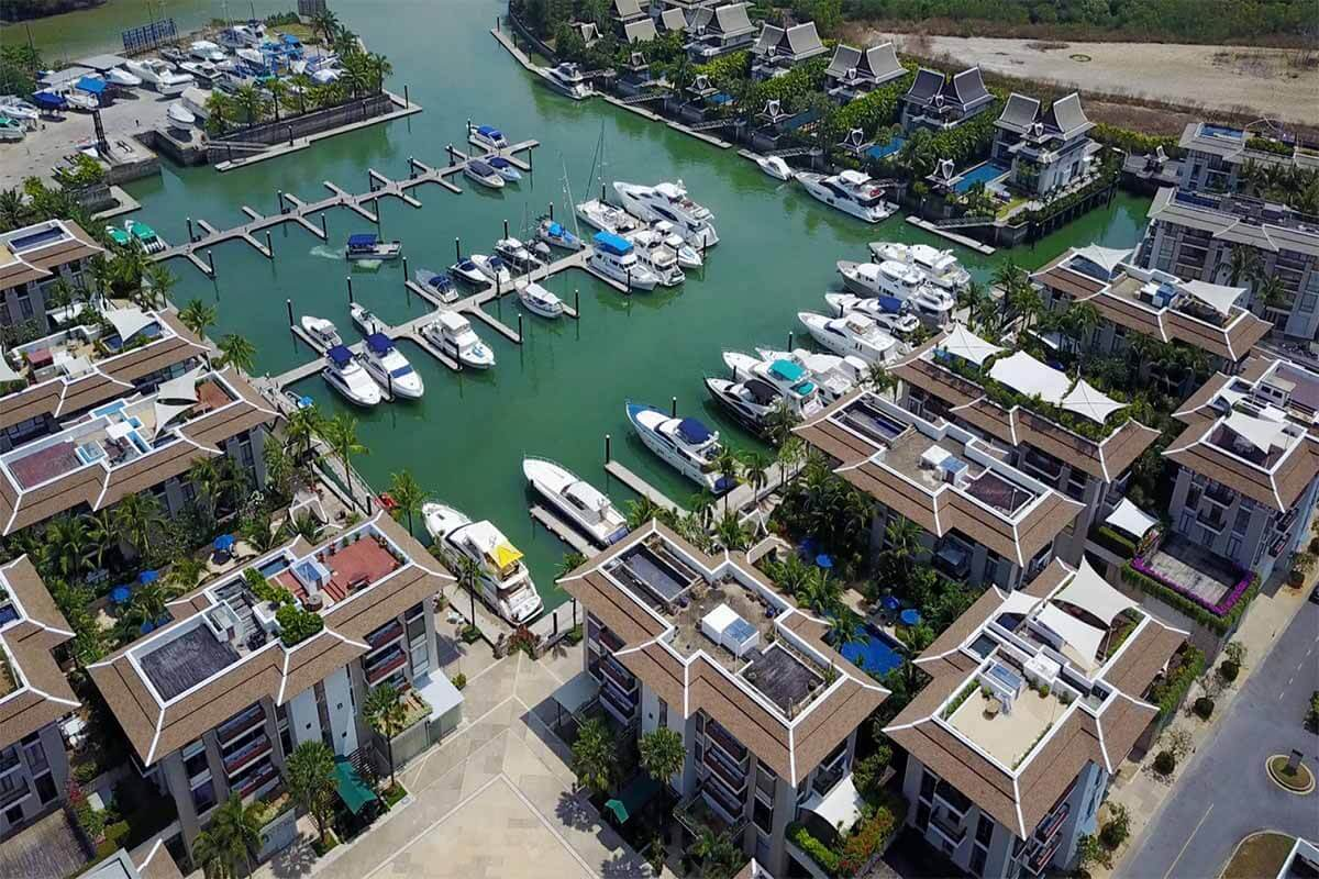 Royal Phuket Marina 3 Bedroom Condo for Rent in Kohkaew Phuket