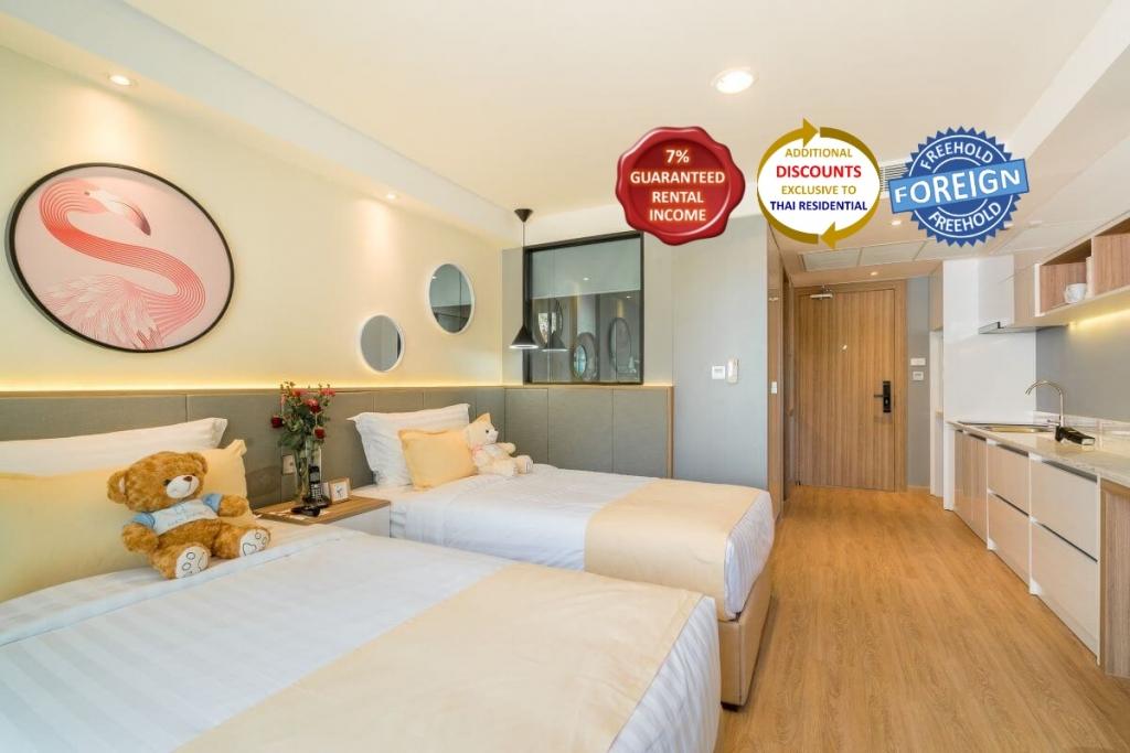 Studio Foreign Freehold Condo for Sale Walking Distance to Kata Beach, Phuket