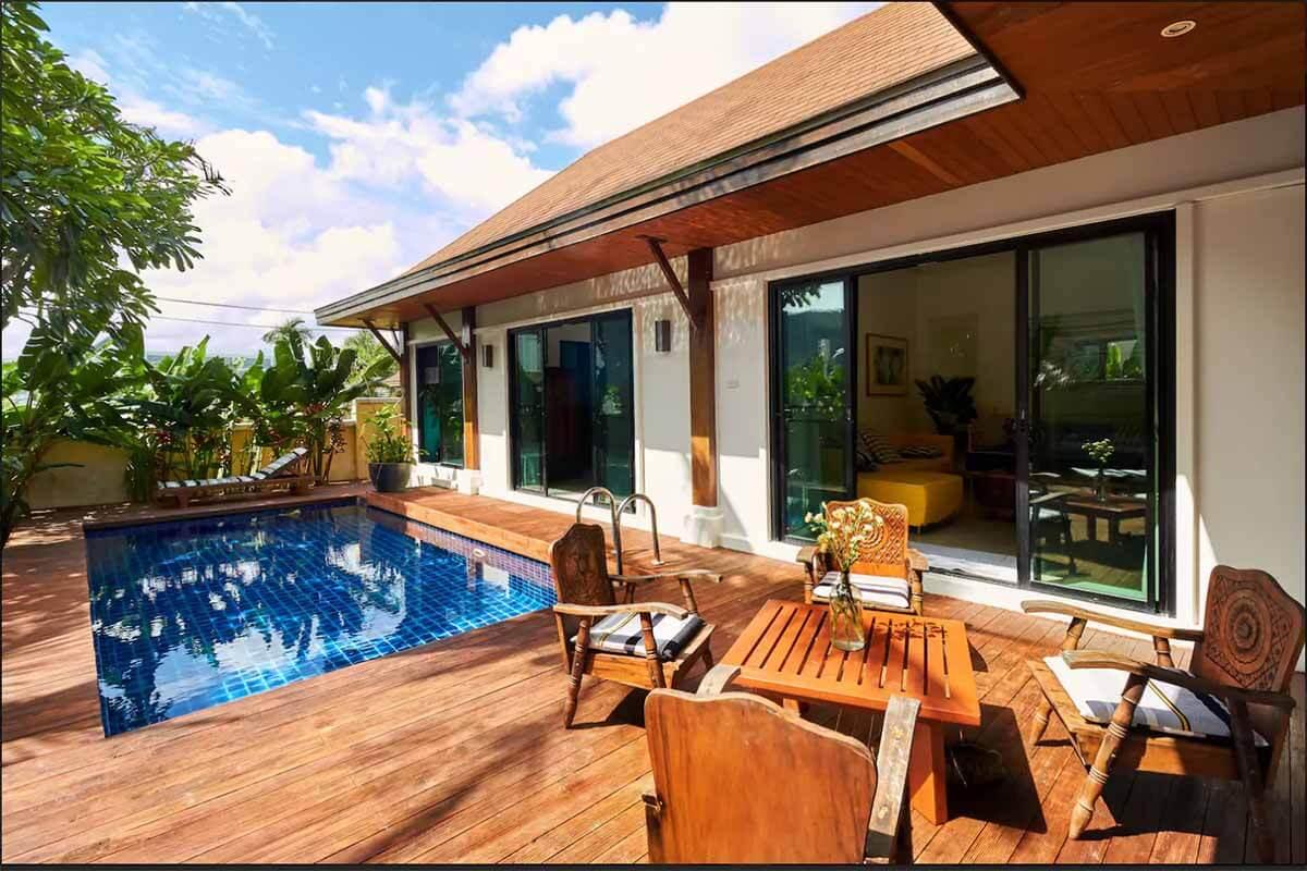 Two Villas 3 Bedroom Pool for Rent near Nai Harn Beach Phuket