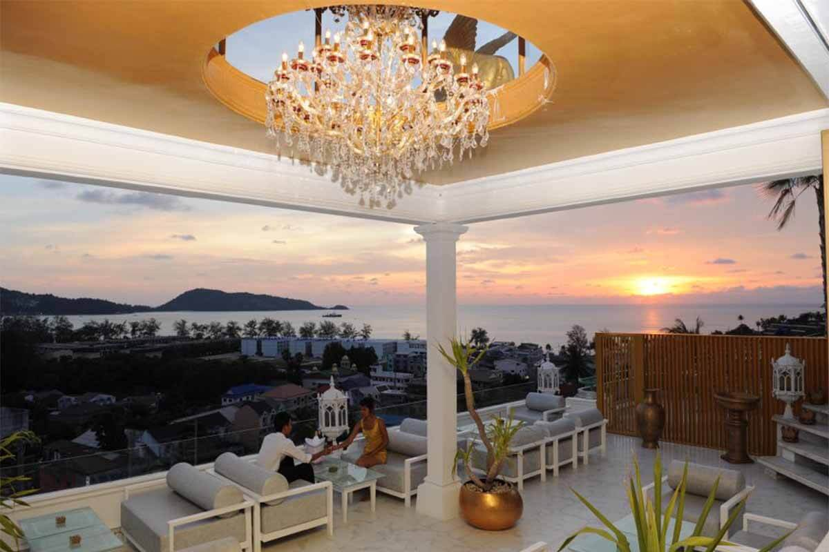 Il Palazzo Sea View Hotel & Restaurant Business for Sale in Patong Phuket