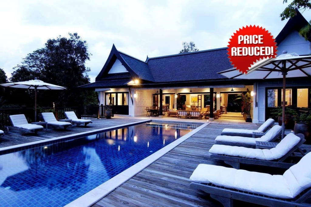 6 Bedroom Sea View Luxury Pool Villa for Sake at Katamanda Walking Distance to Kata Beach, Phuket
