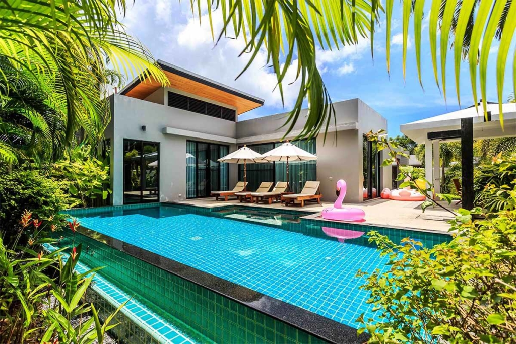 Baan Bua 3 Bedroom Pool Villa for Rent in Nai Harn Phuket