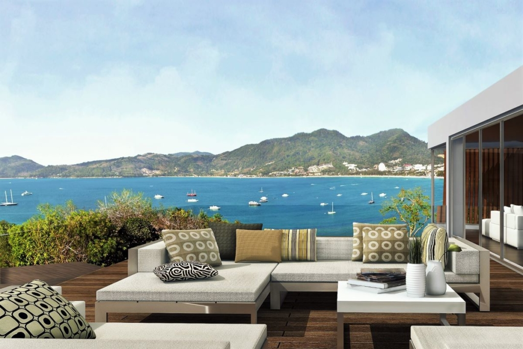 Bluepoint 2 Bedroom Sea View Condo for Sale in Patong Beach Phuket