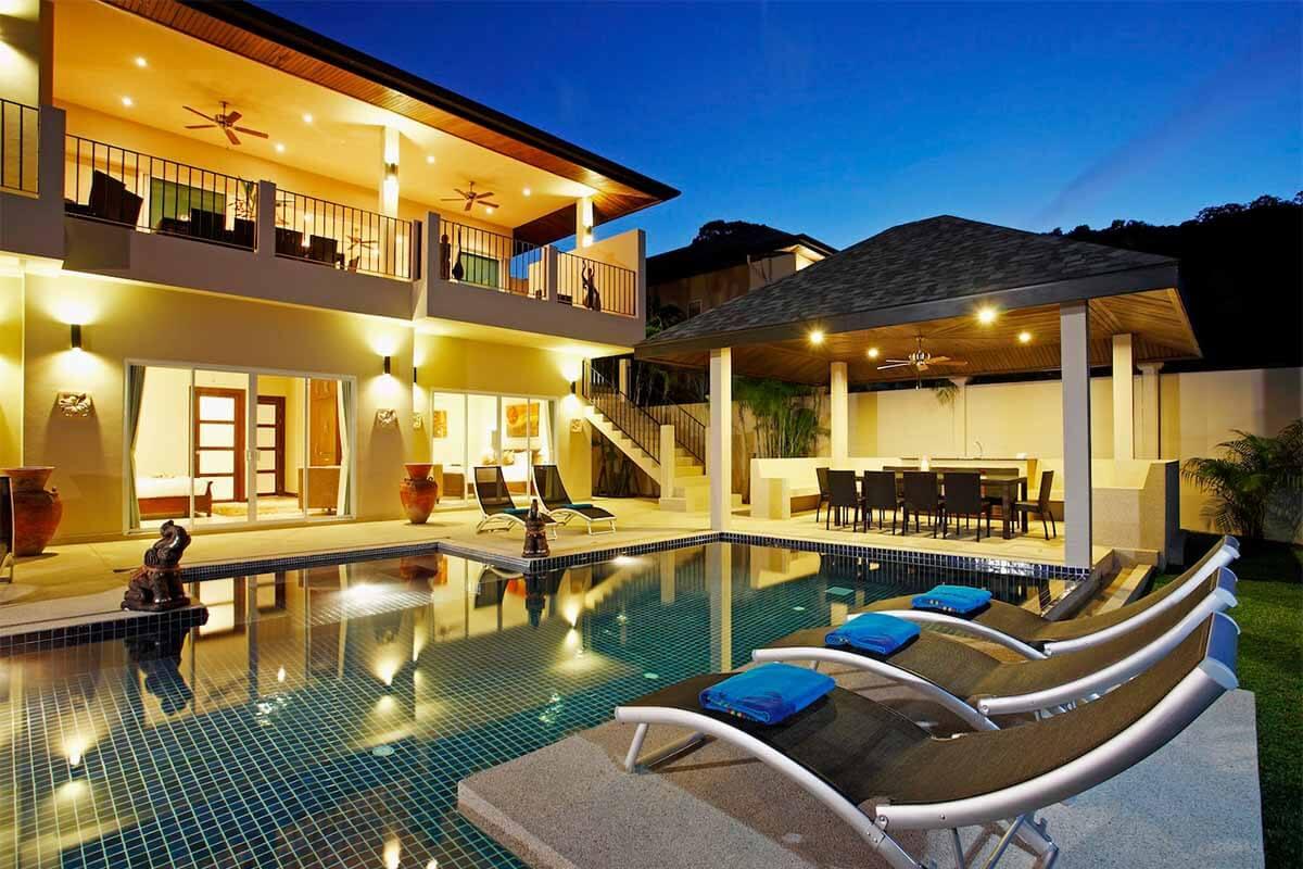 Jade Villa 7 Bedroom Pool Villa in Nai Harn Beach Phuket