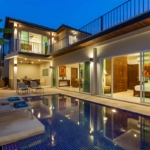 Topaz Villa 5 Bedroom Mountain View Pool Villa for Sale in Nai Harn Phuket