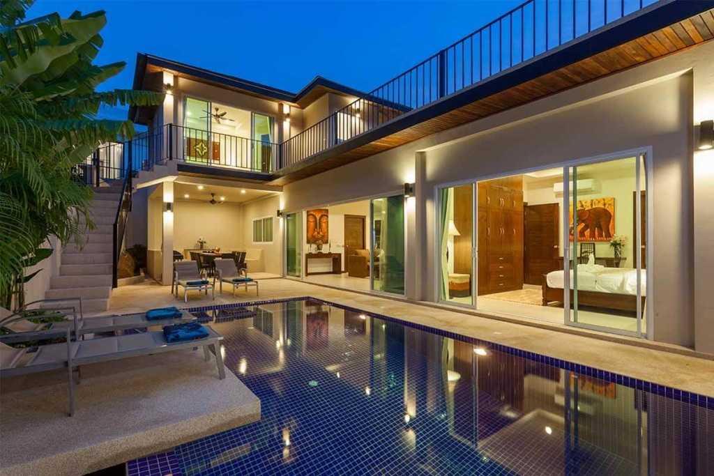 Topaz 5 Bedroom Pool Villa for Rent in Nai Harn Phuket