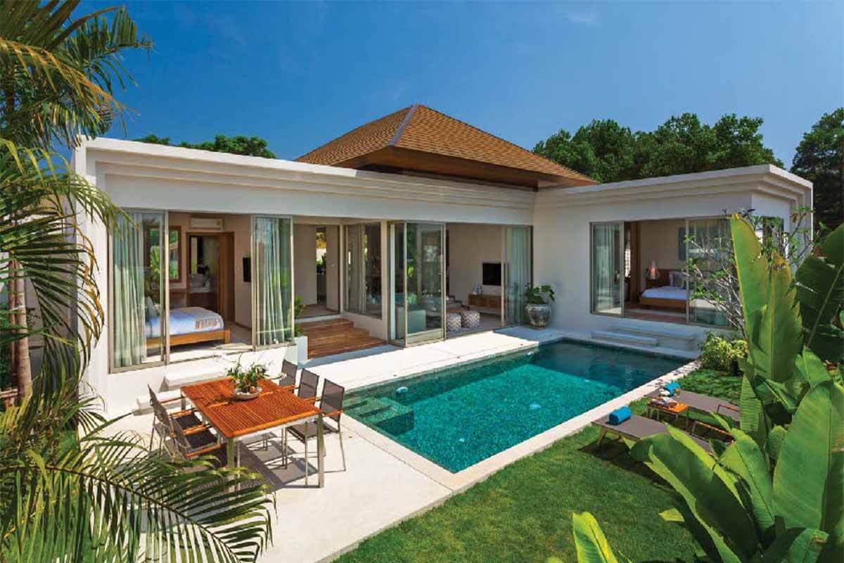 Trichada 3 Bedroom Pool Villa for Sale in Cherng Talay Phuket near Laguna