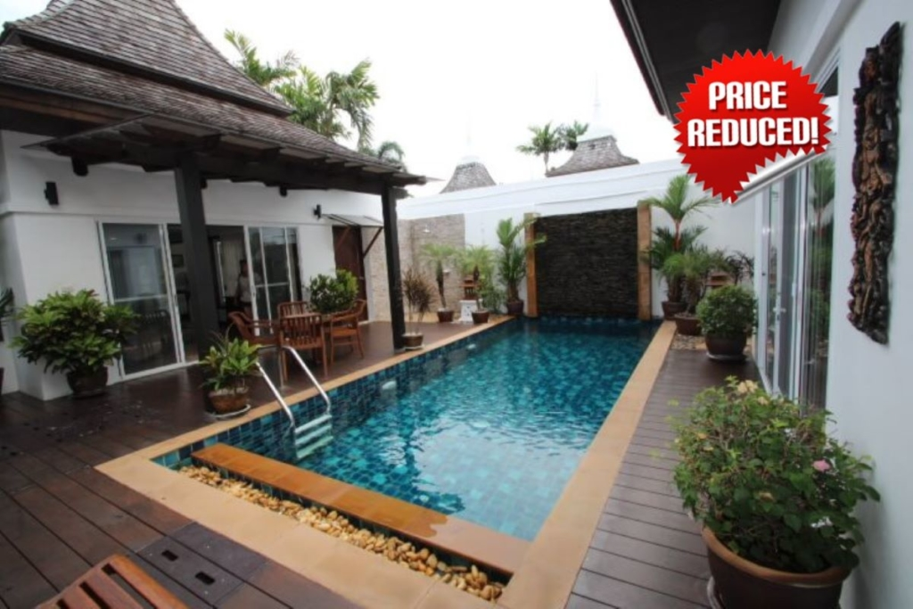 2 Bedroom Balinese Pool Villa for Sale in Nai Harn, Phuket