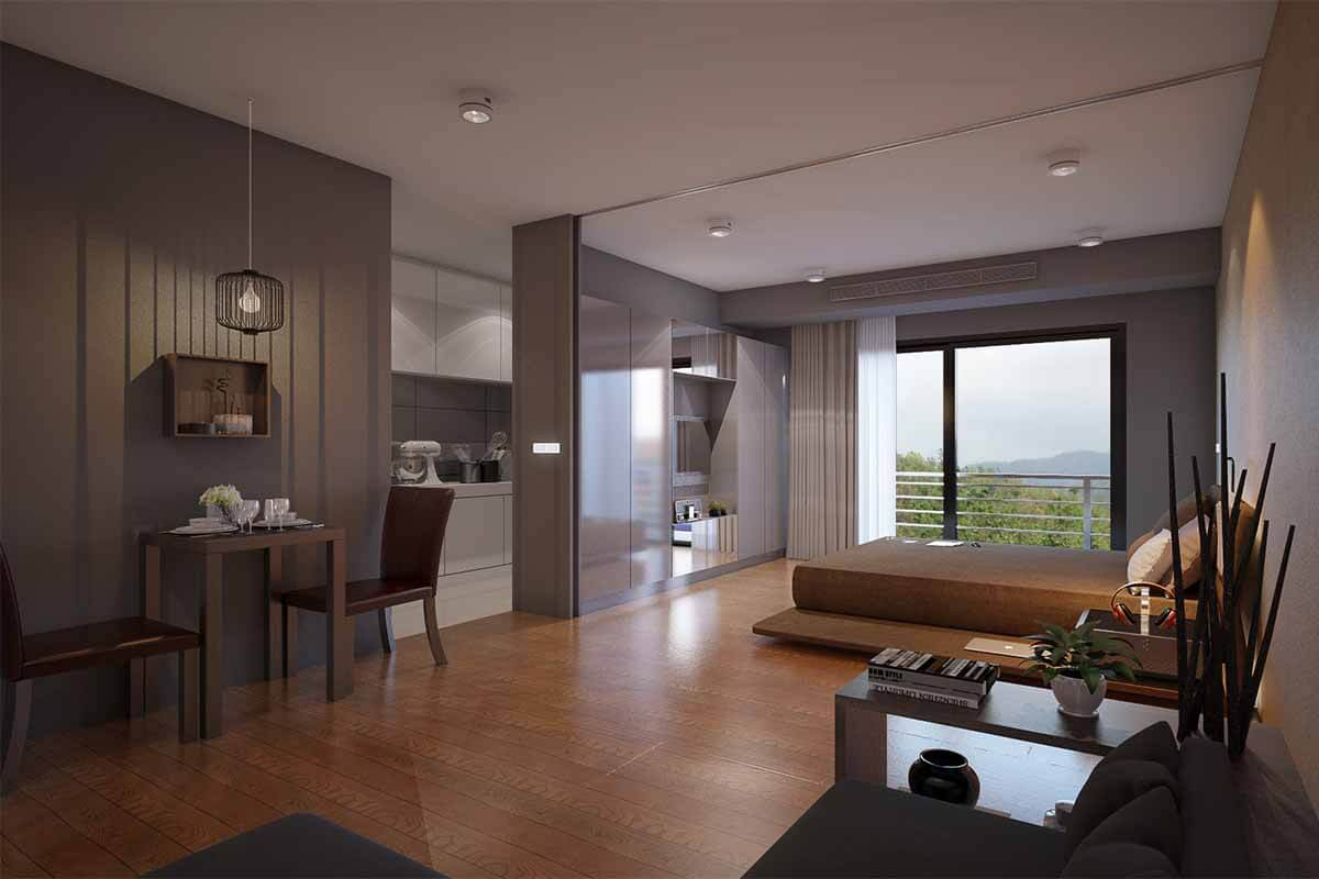 Hollyland 1 Bedroom Condo for Sale in Phuket Town