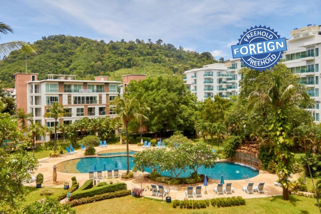 Studio Foreign Freehold Condo for Sale by Owner at Phuket Palace Condominium near Patong Beach, Phuket