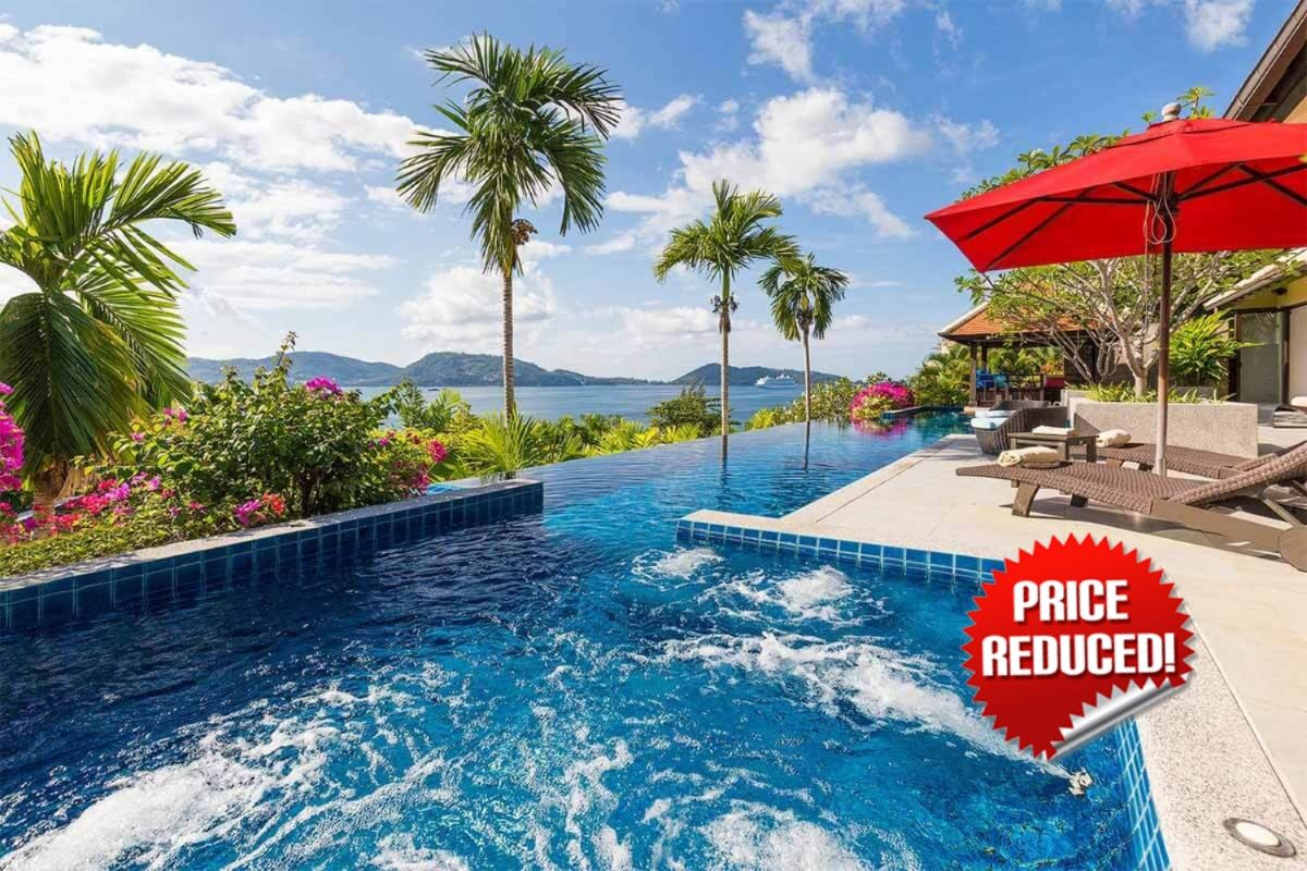 4 Bedroom Panoramic Sea View Pool Villa for Sale in Kalim, Phuket