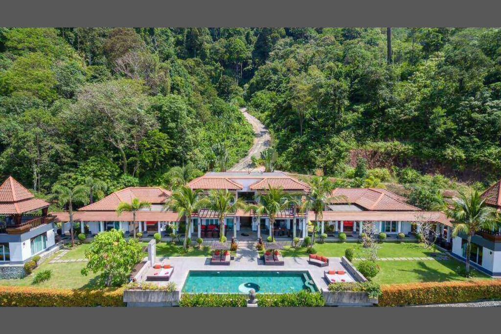 8 Bedroom Sea View Luxury Pool Villa for Sale near Kalim Beach in Patong, Phuket
