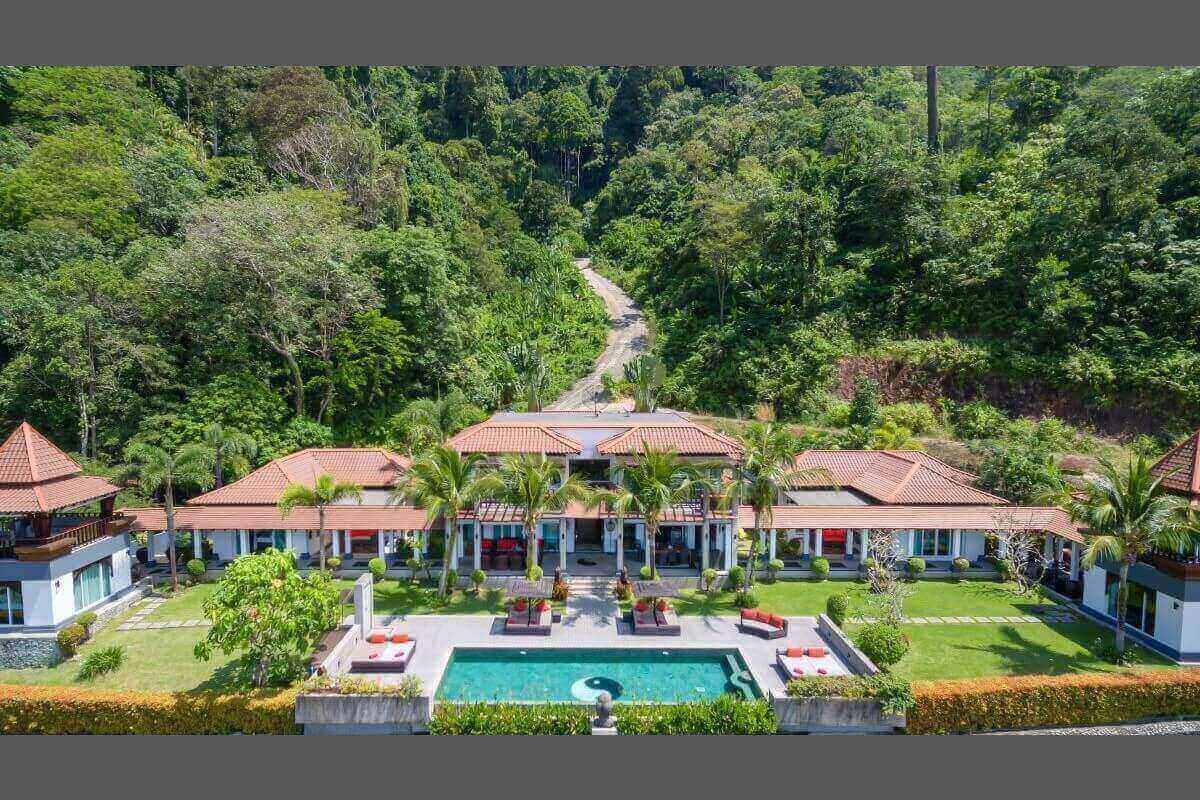 8 Bedroom Sea View Luxury Pool Villa for Sale near Kalim Beach in Patong, Phuket