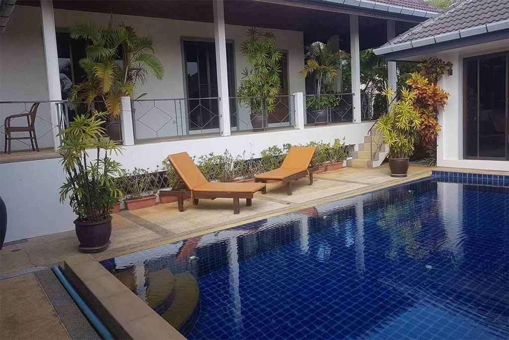 Nai Harn Baan Bua 4 Bedroom Pool Villa for Sale in Nai Harn Phuket
