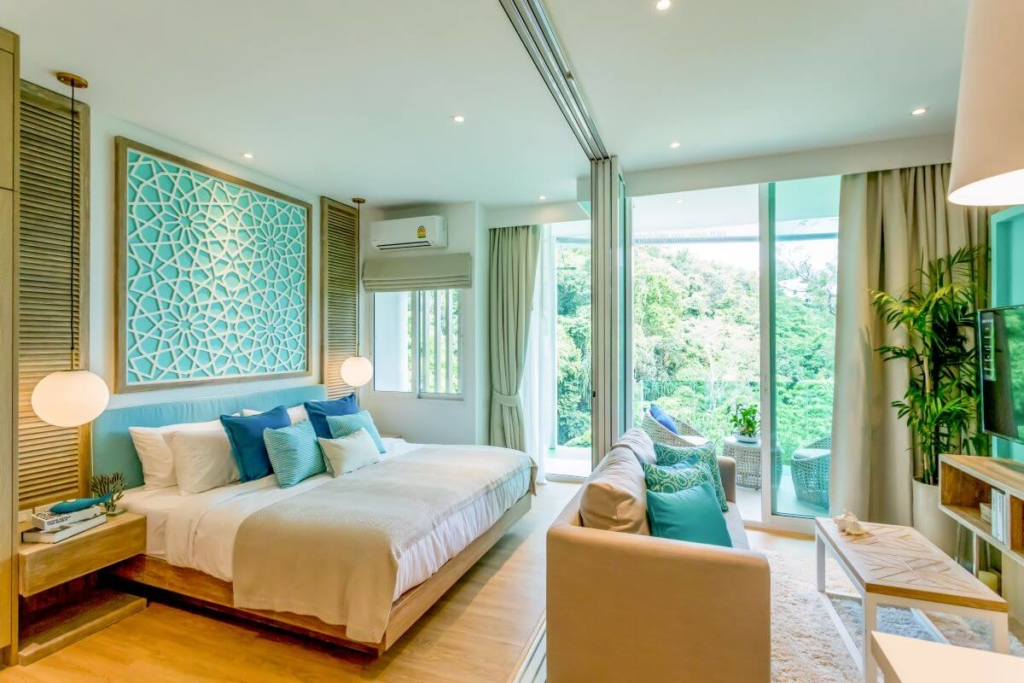 1 Bedroom Sea View Condo for Sale near Kamala Beach, Phuket