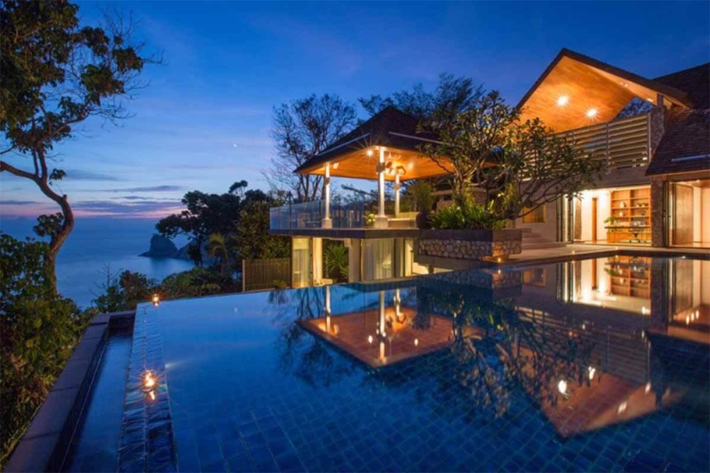 Hale Malia 6 Bedroom Oceanfront Villa for Sale in Kamala Beach Phuket