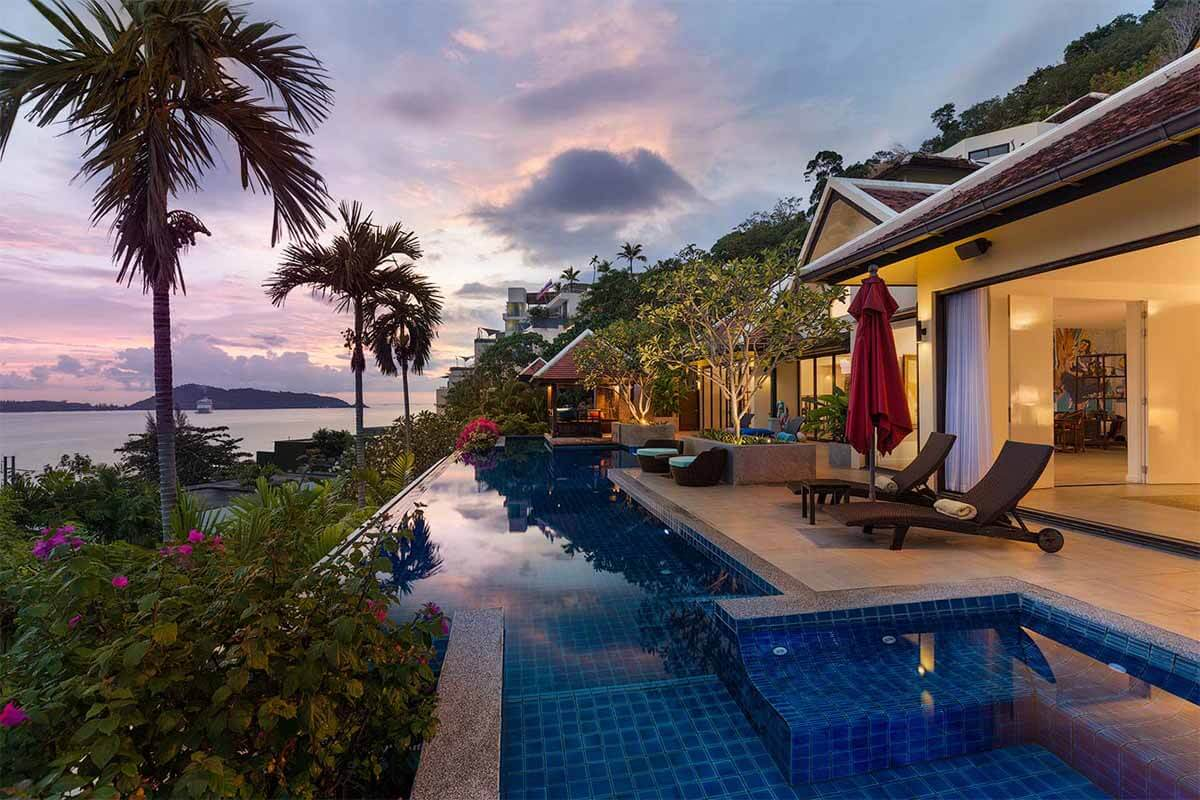 Indochine Villa for Sale in Kalim Phuket