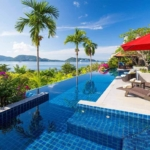 Indochine 4 Bedroom Panoramic Sea View Pool Villa for Sale in Kalim Phuket