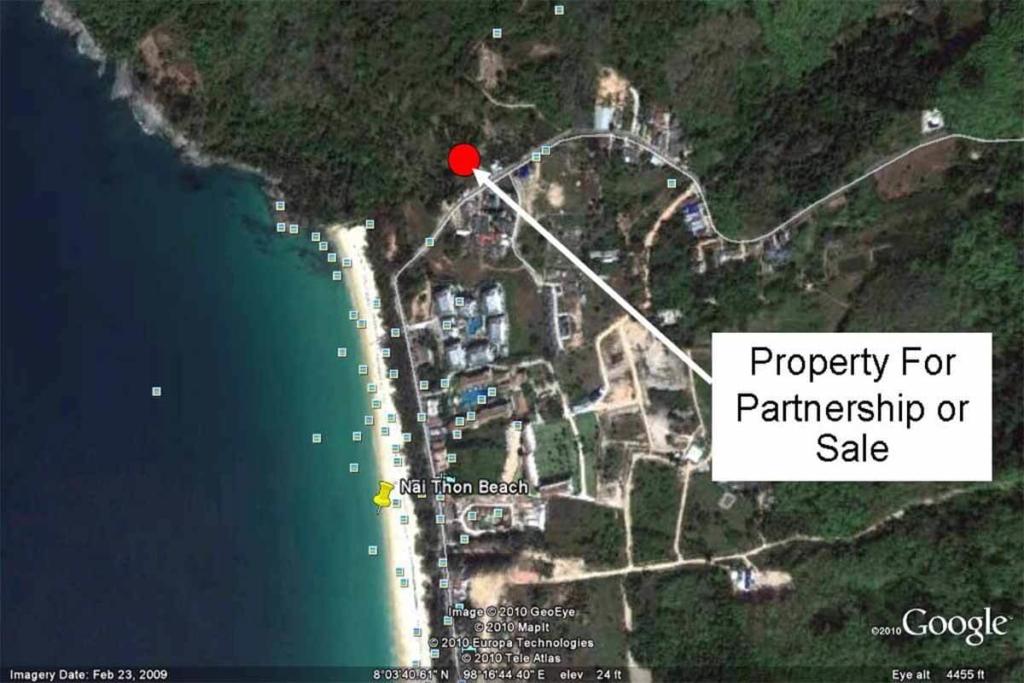 Sea View Chanote Title Land for Sale Near Naithon Beach Phuket