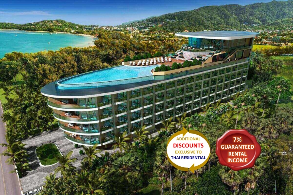 Studio Sea View Condo for Sale near Bang Tao Beach, Phuket