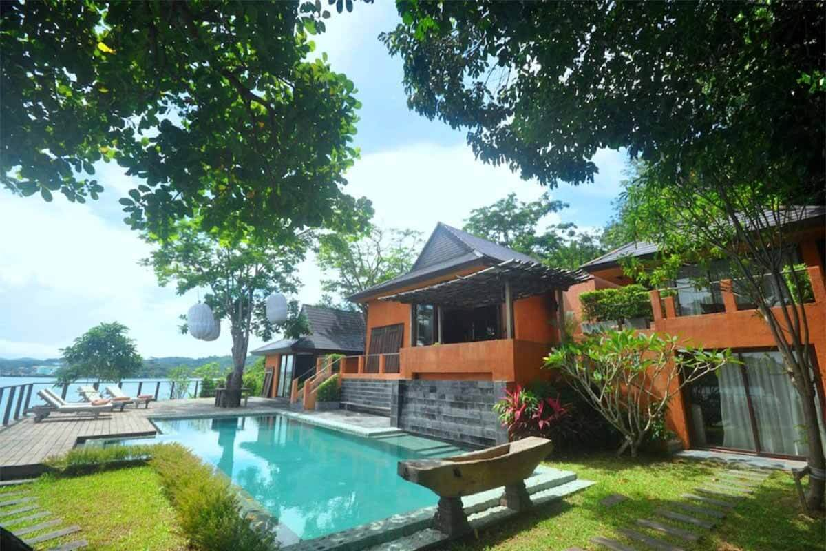 5 Bedroom Waterfront Villa for Sale in Ao Makham Phuket