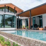 4 Bedroom Modern Loft Pool Villa for Sale near Nai Harn Beach, Phuket
