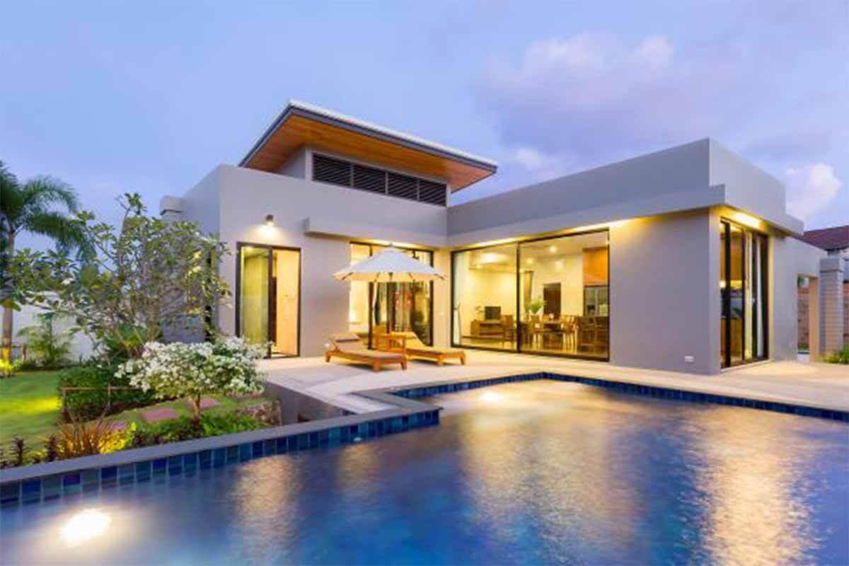 Baan Boondharik 4 Bedroom Pool Villa for Sale in Nai Harn Phuket