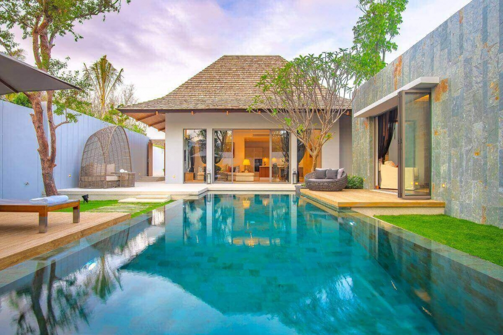 2 Bedroom Balinese Style Pool Villa for Sale in Cherng Talay, Phuket