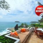 Baan Kata 4 Bedroom Oceanfront Pool Villa in Kata Beach Phuket