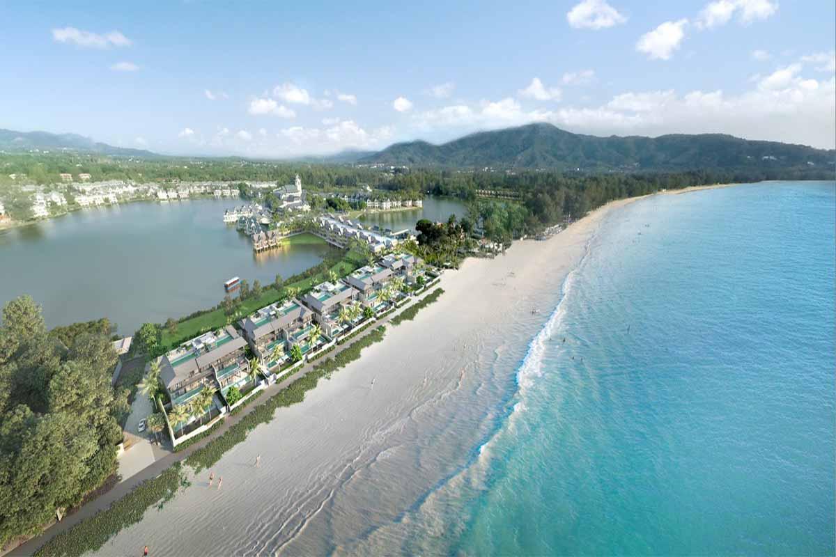 Angsana Beachfront Residences 3 Bedroom Duplex Pool Villa for Sale in Bang Tao Beach Phuket near Laguna