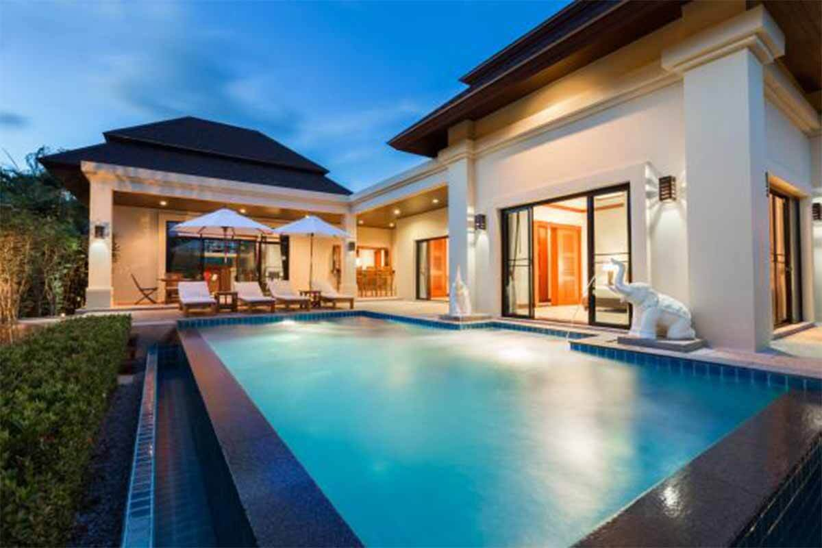 Baan Pattama 2 Bedroom Pool Villa for Sale in Nai Harn Phuket