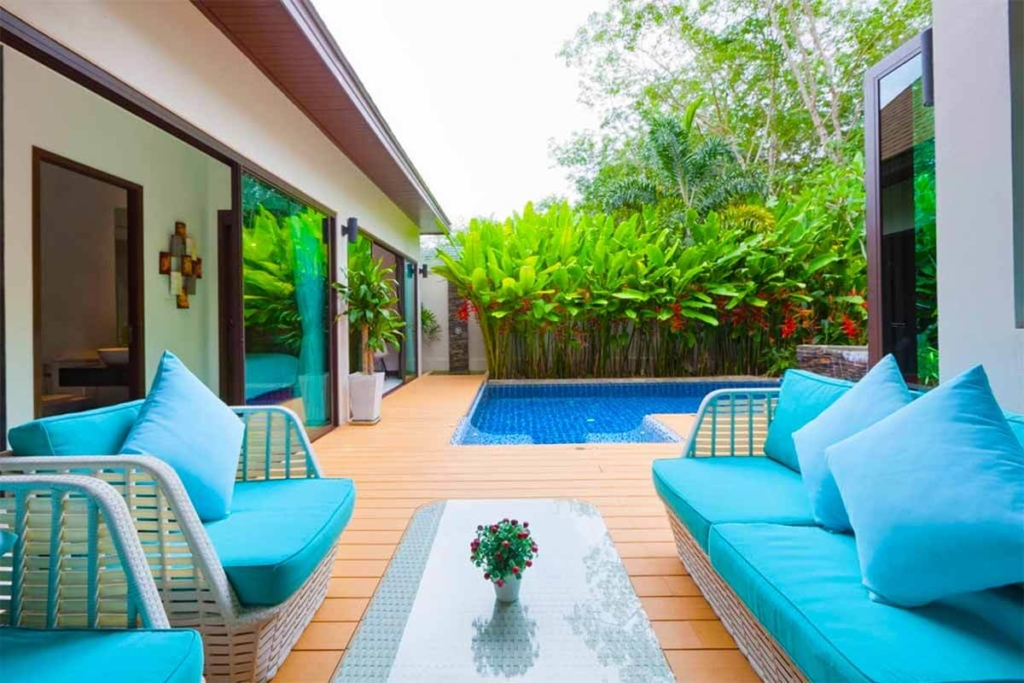 4 Bedroom Mountain View Pool Villa for Sale in Rawai Phuket