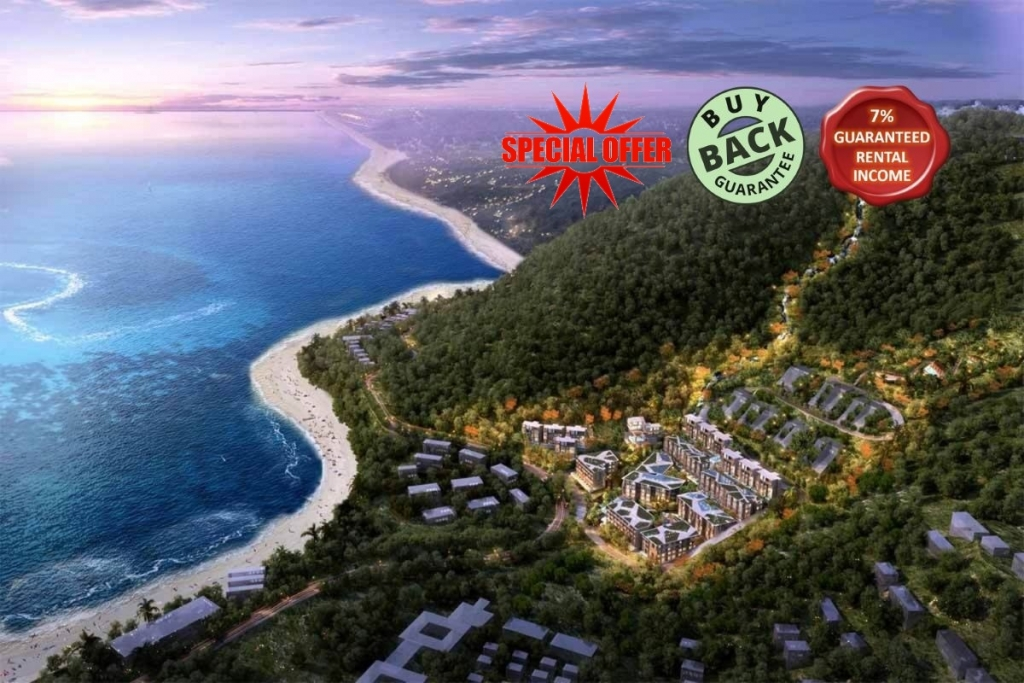 Studio Sea View Condo for Sale in Kamala Beach Phuket