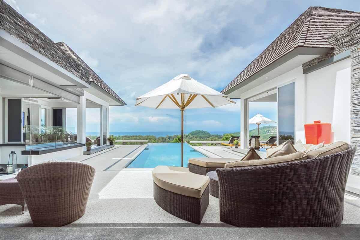 Villa Bauhinia 5 Bedroom Sea View Pool Villa in Layan Beach Phuket