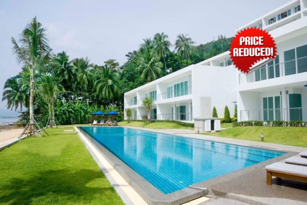 3 Bedroom Beachfront Condo for Sale in Panwa, Phuket