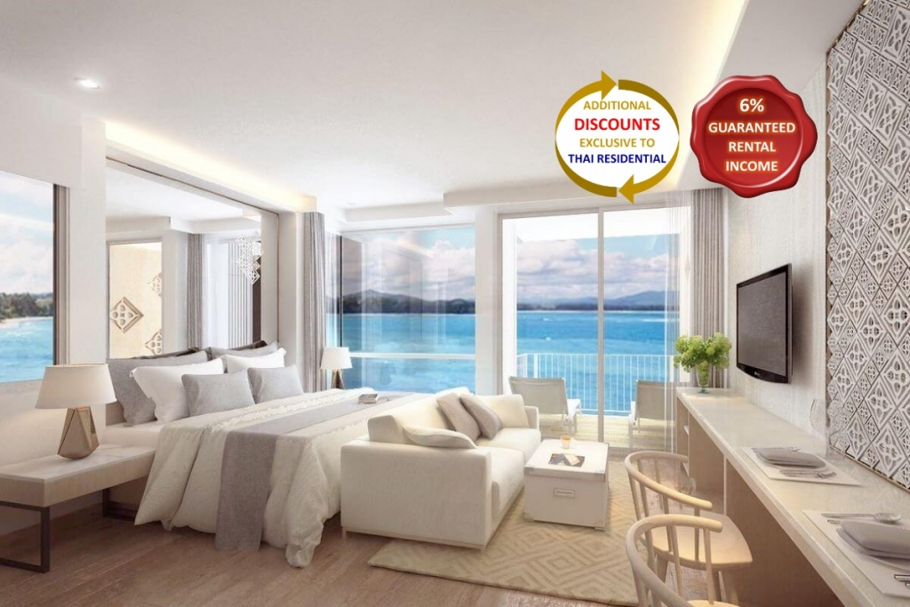 Studio Sea View Condo for Sale in Nai Yang Beach, Phuket
