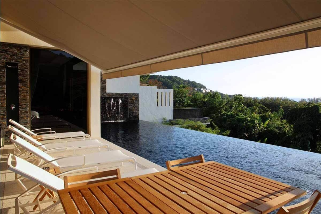 Vista del Mar 3 Bedroom Sea View Pool Villa for Sale in Nai Thon Phuket