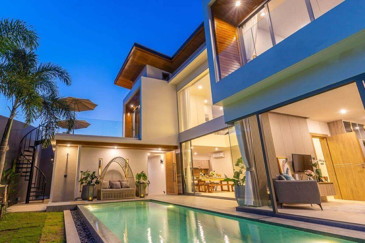 3 Bedroom Mountain Views Pool Villa For Sale In Cherng Talay