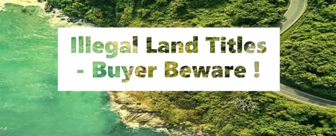 All you need to know about Land Titles